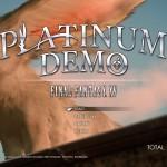 『PLATINUM DEMO – FINAL FANTASY XV』 プレイしてみた